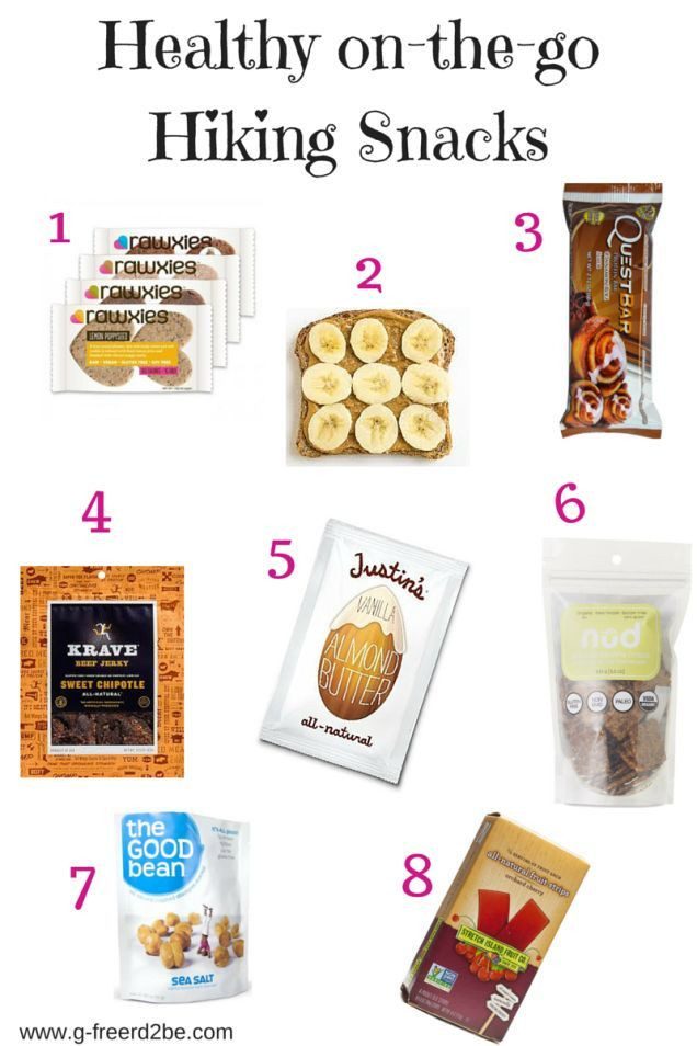Healthy Hiking Snacks  Healthy hiking snacks to try on your next day hike