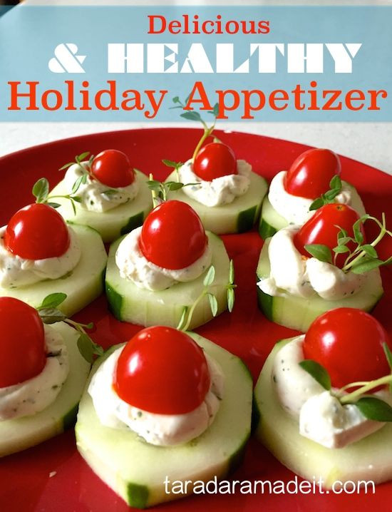 Healthy Holiday Appetizers  Healthy & Quick Holiday Appetizer Recipe with Ranch