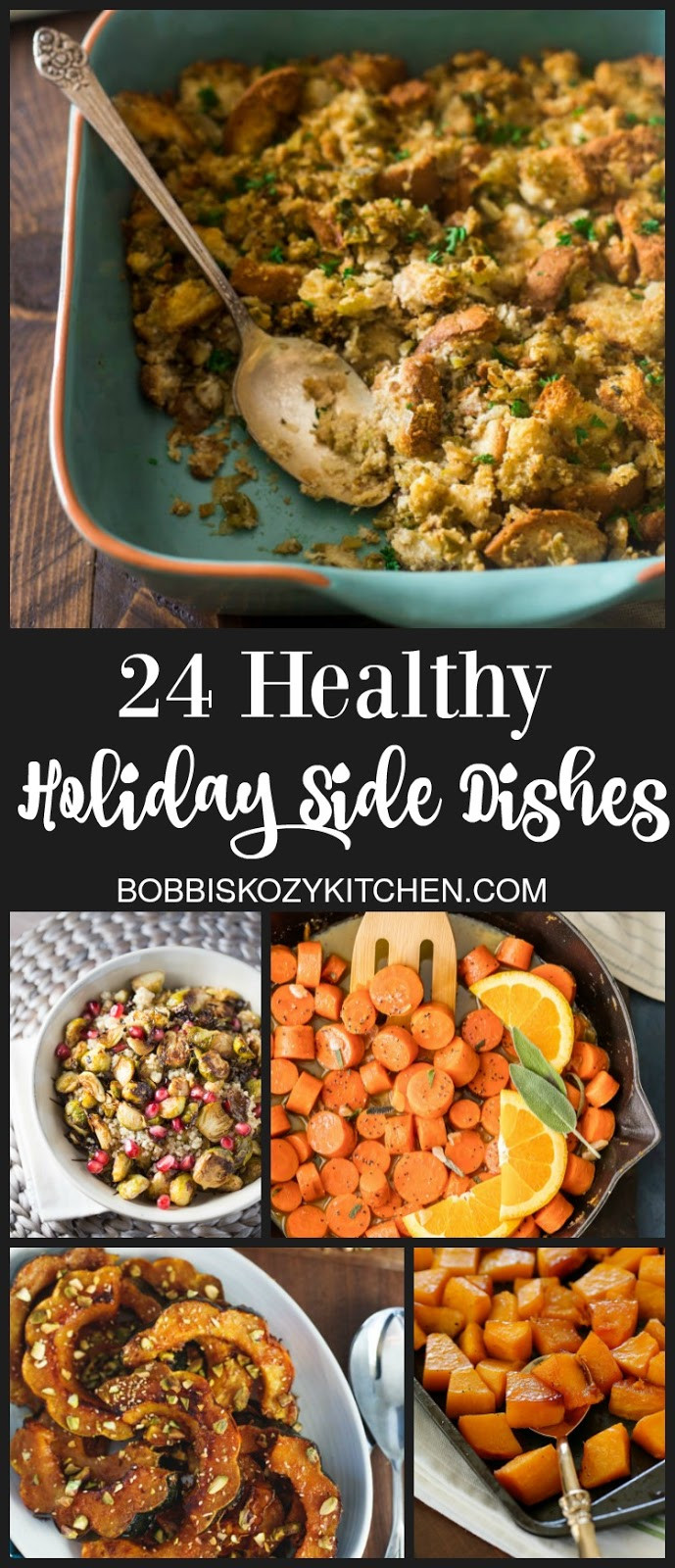 Healthy Holiday Side Dishes  24 Healthy Holiday Side Dishes