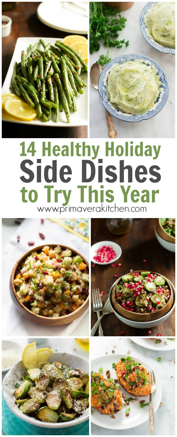 Healthy Holiday Side Dishes  14 Healthy Holiday Side Dishes to Try This Year