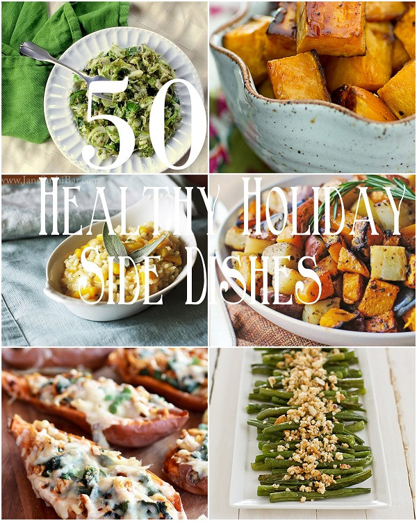 Healthy Holiday Side Dishes  50 Healthy Holiday Side Dishes