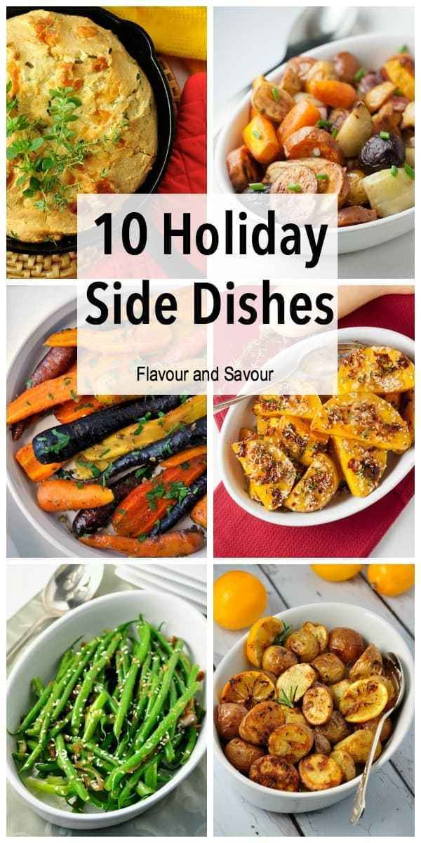Healthy Holiday Side Dishes  Healthy Holiday Side Dishes Flavour and Savour