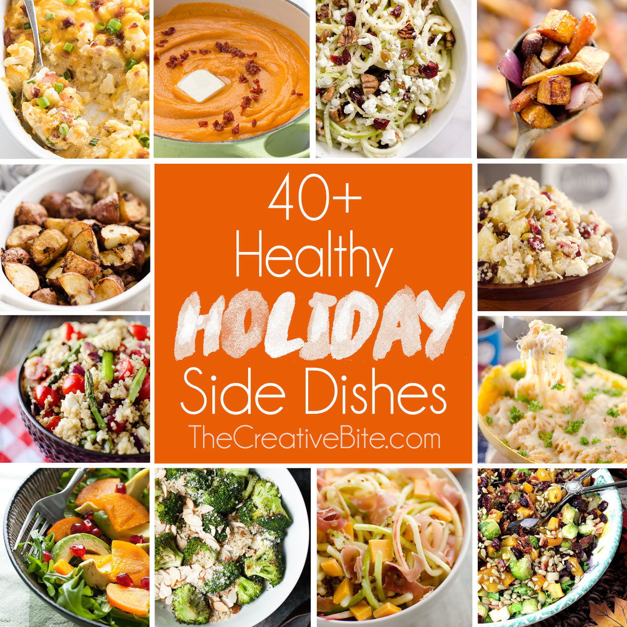 Healthy Holiday Side Dishes  Healthy Holiday Side Dishes