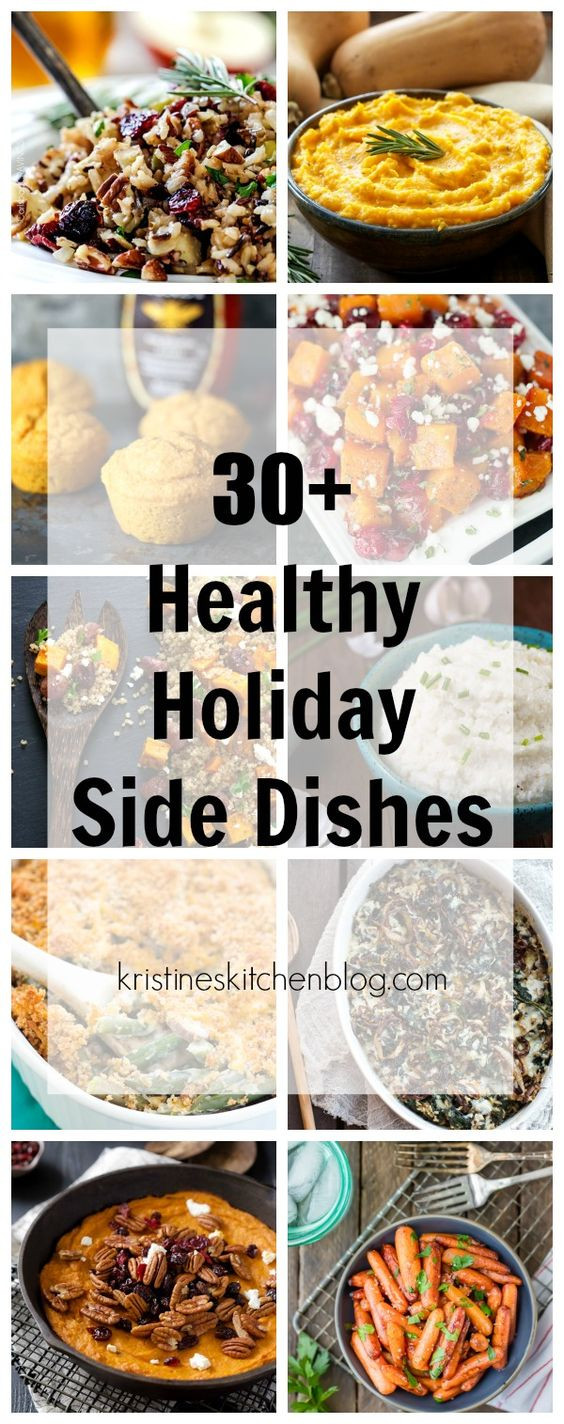 Healthy Holiday Side Dishes  30 Healthy Holiday Side Dishes