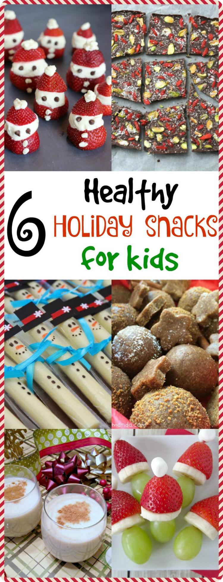 Healthy Holiday Snacks  6 Healthy Holiday Snacks for Kids MOMables