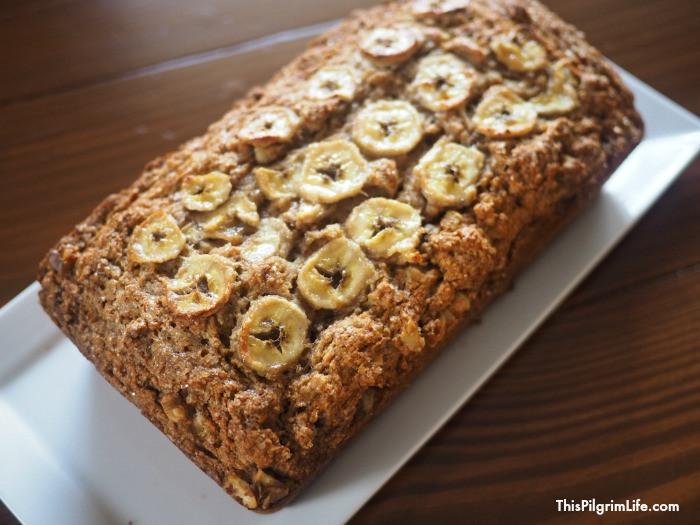 Healthy Homemade Banana Bread  Healthy Homemade Banana Bread This Pilgrim Life
