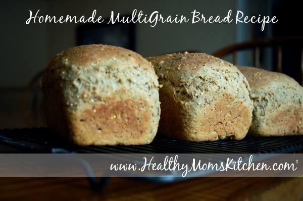Healthy Homemade Bread  Healthy Homemade MultiGrain Bread Recipe