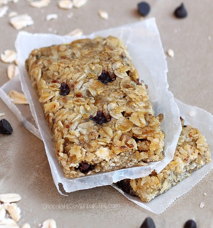Healthy Homemade Breakfast Bars  Healthy Granola Bars Chewy Delicious Easy