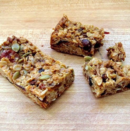 Healthy Homemade Breakfast Bars  Basic Healthy Granola Recipe — Dishmaps