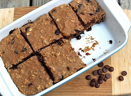 Healthy Homemade Breakfast Bars  The Best Healthy Dessert Recipes