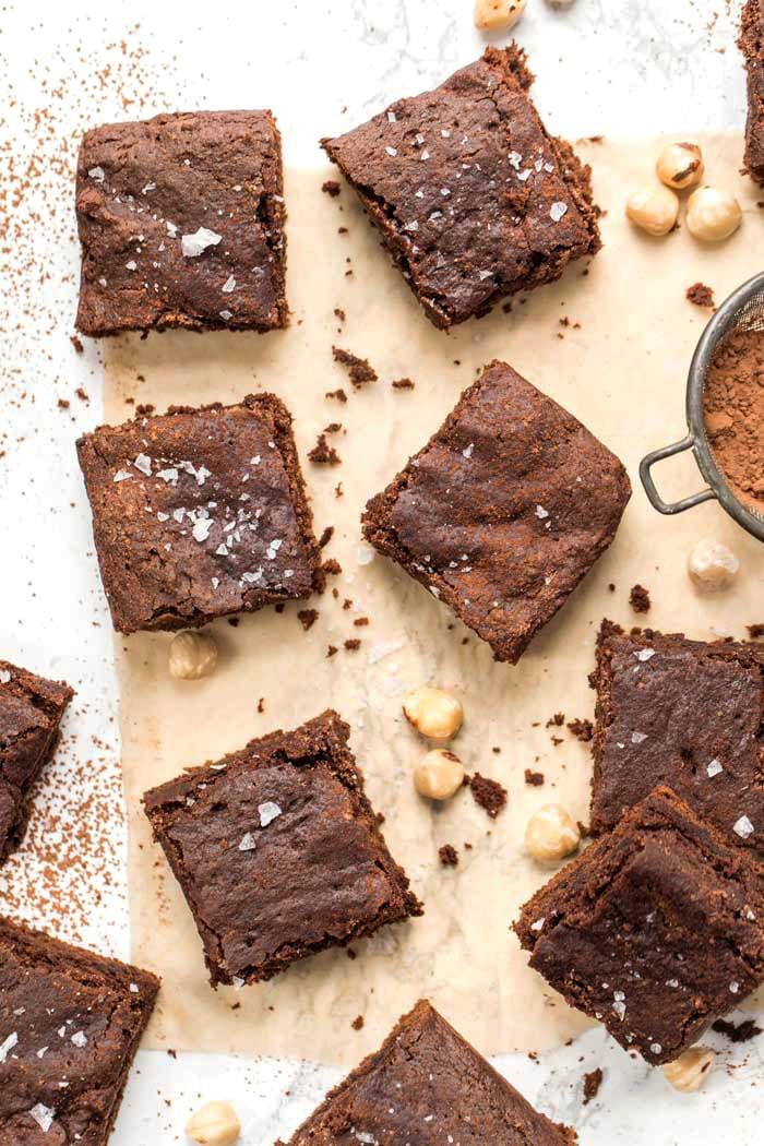 Healthy Homemade Brownies  vegan homemade brownies