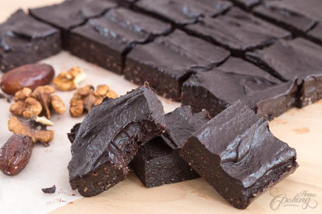 Healthy Homemade Brownies  Healthy No Bake Brownies Home Cooking Adventure