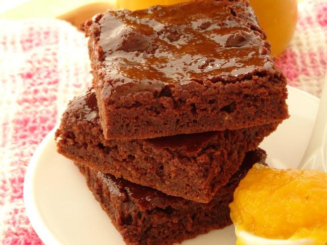 Healthy Homemade Brownies  e Bowl Healthy Pumpkin Brownies Recipe