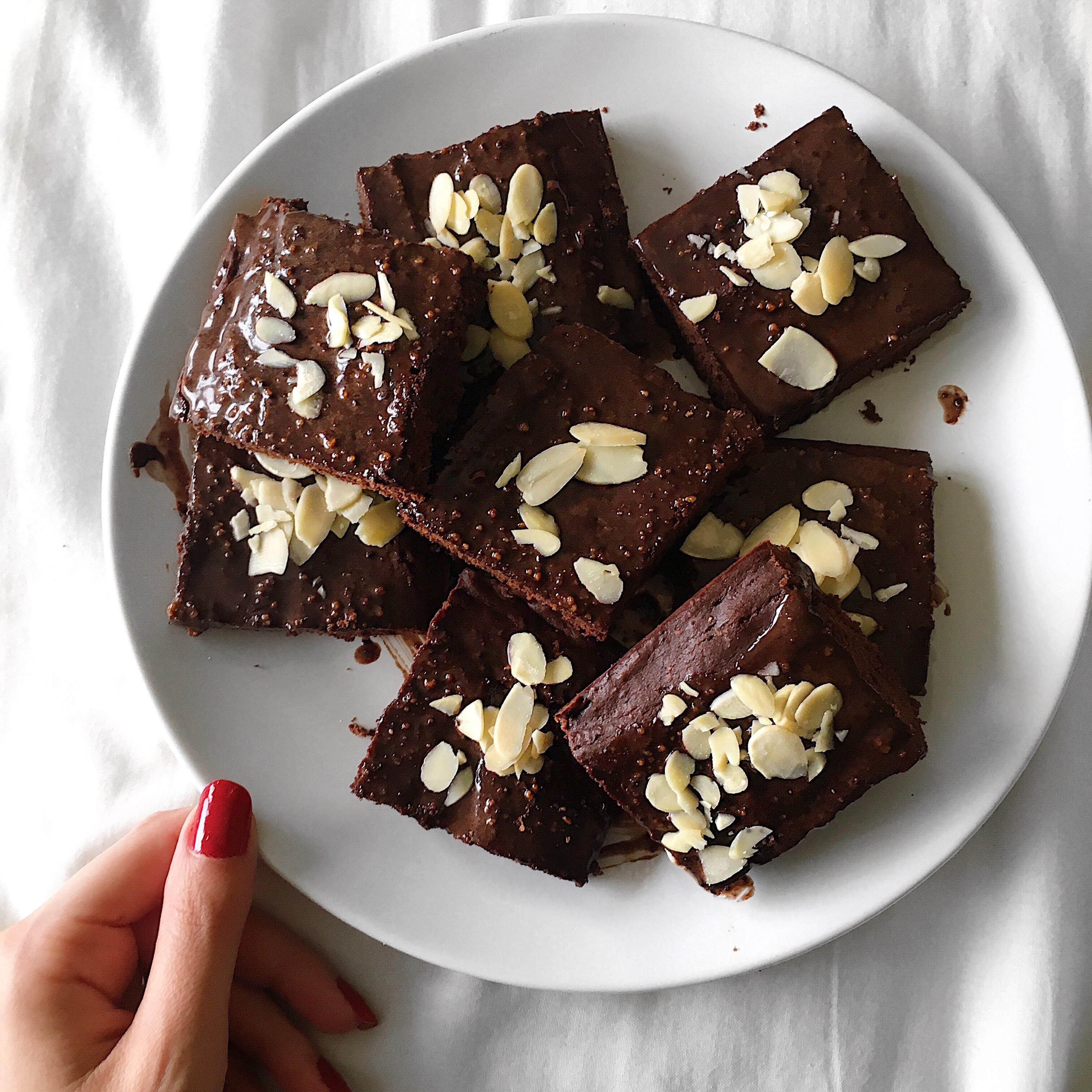 Healthy Homemade Brownies  Healthy Vegan Brownies Recipe