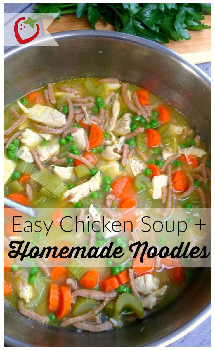 Healthy Homemade Chicken Soup  117 best Thanksgiving images on Pinterest