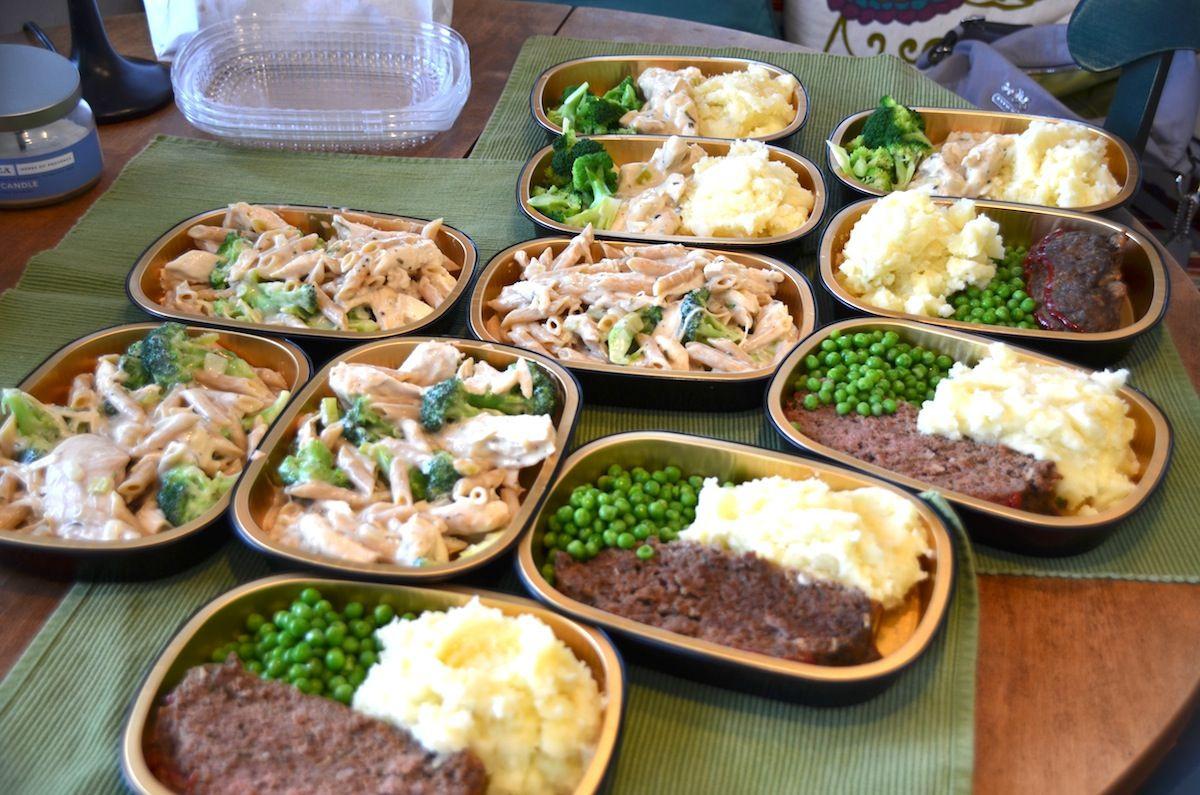 Healthy Homemade Dinners  homemade freezer meals freezer meals