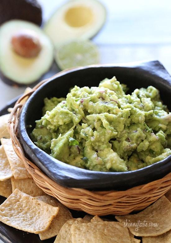 Healthy Homemade Guacamole  Best Guacamole Recipe