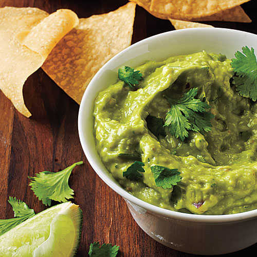 Healthy Homemade Guacamole  Homemade Guacamole and Chips Pack These Snacks to Lose