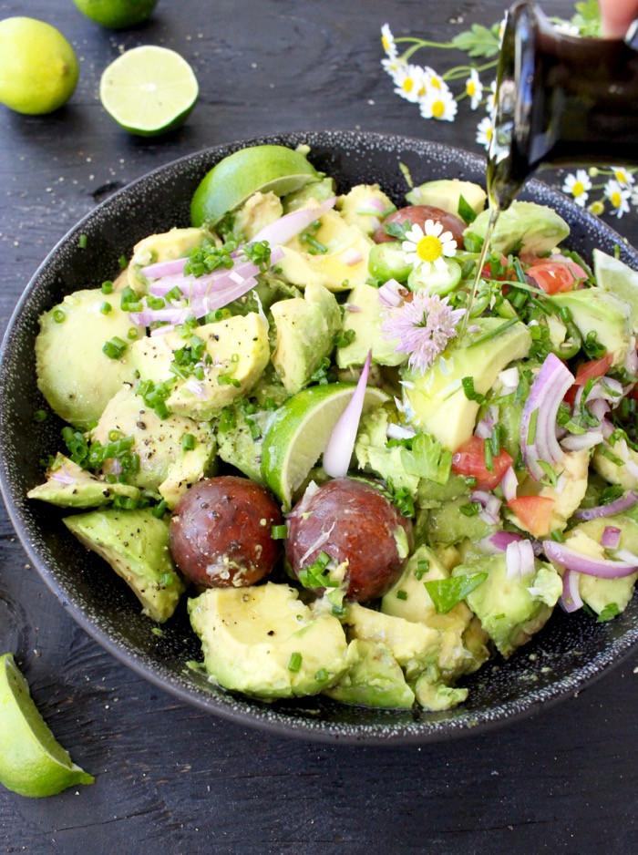 Healthy Homemade Guacamole  Healthy Homemade Guacamole Recipe VIDEO • CiaoFlorentina