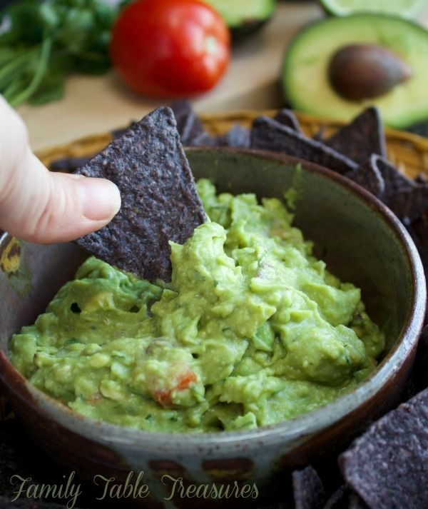 Healthy Homemade Guacamole  25 best ideas about Homemade guacamole on Pinterest