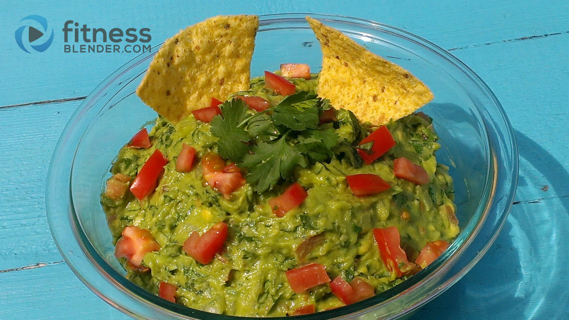 Healthy Homemade Guacamole  Healthy Easy Guacamole Recipe