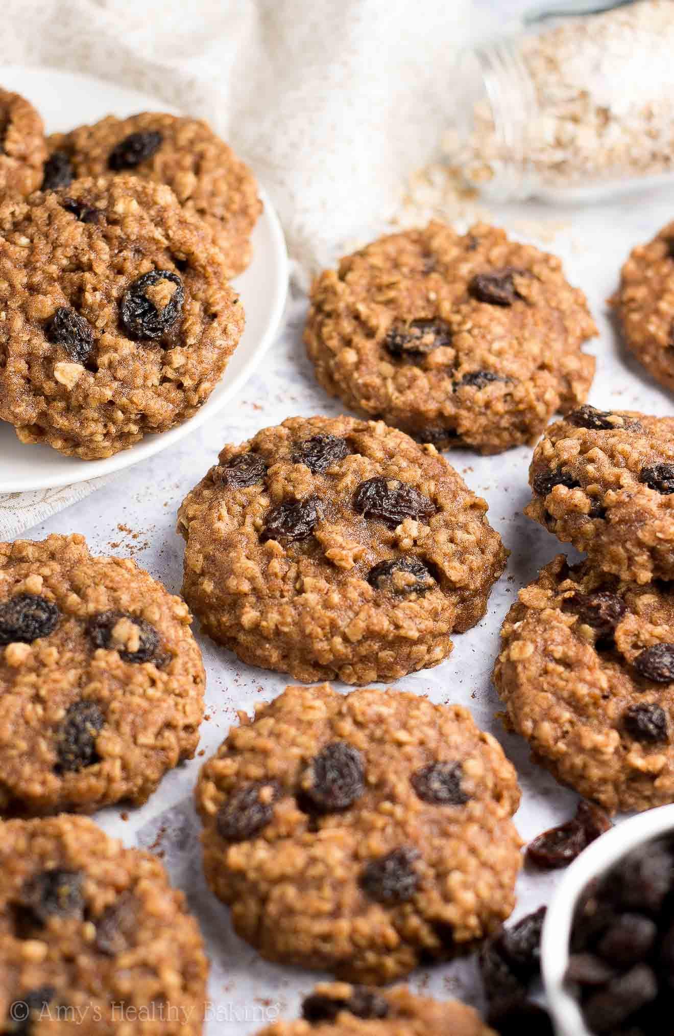 Healthy Homemade Oatmeal Cookies  Healthy Banana Oatmeal Raisin Cookies
