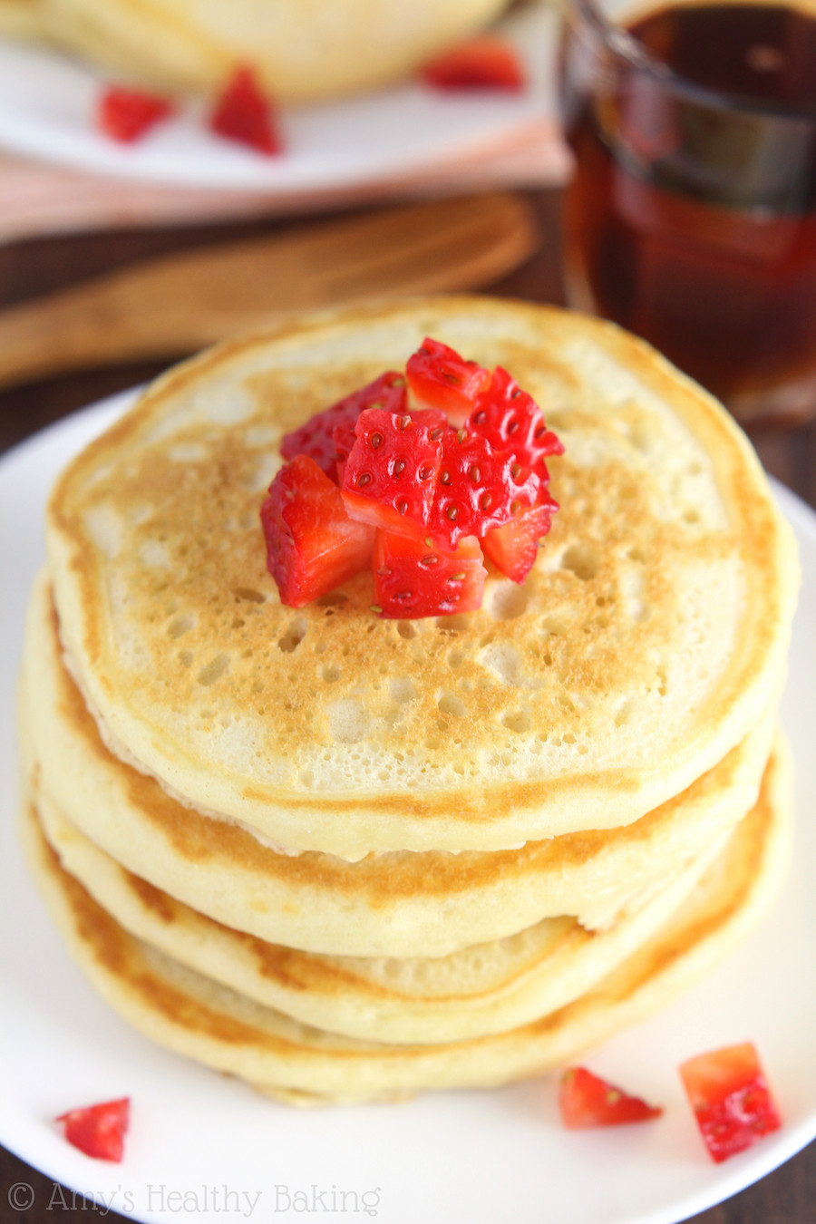 Healthy Homemade Pancakes  The Ultimate Healthy Buttermilk Pancakes