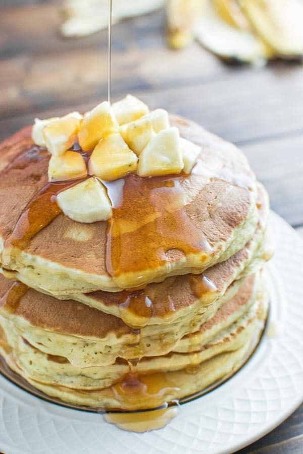Healthy Homemade Pancakes  Healthy Banana Pancakes COOKTORIA