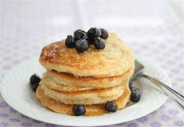 Healthy Homemade Pancakes  Homemade Gluten Dairy Egg Free Vegan Fluffy Pancake