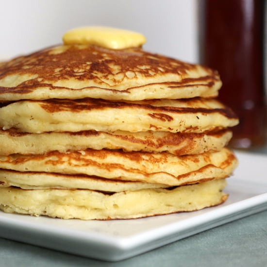 Healthy Homemade Pancakes  healthy pancake recipe from scratch