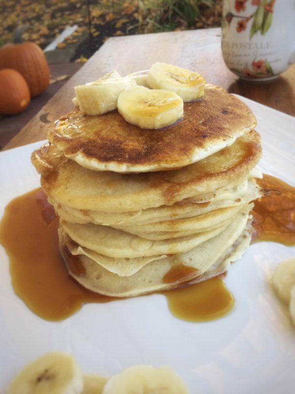 Healthy Homemade Pancakes  Vegan Buttermilk Pancakes My Healthy Homemade Life
