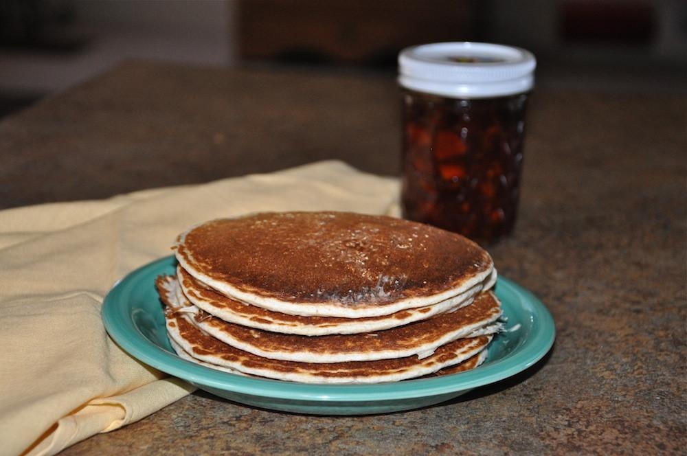 Healthy Homemade Pancakes  Homemade Healthy Pancake Recipe A Cowboy s Wife