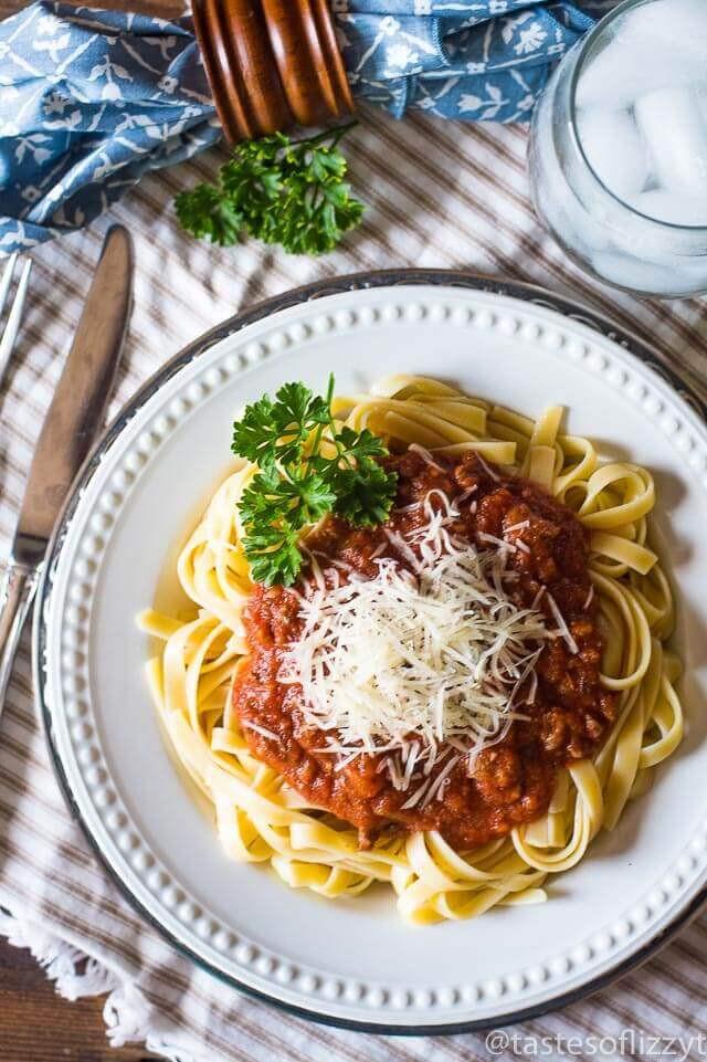 Healthy Homemade Pasta  Homemade Spaghetti Sauce Recipe Healthy and No Sugar Added