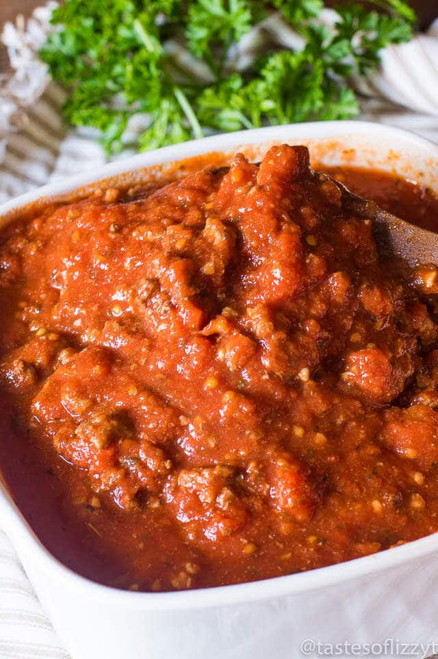 Healthy Homemade Pasta Sauce  Homemade Spaghetti Sauce Recipe Healthy and No Sugar Added