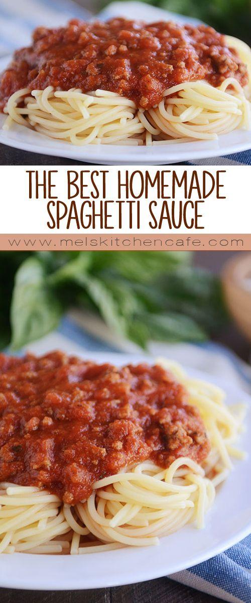 Healthy Homemade Pasta Sauce  25 bästa Spaghetti idéerna på Pinterest