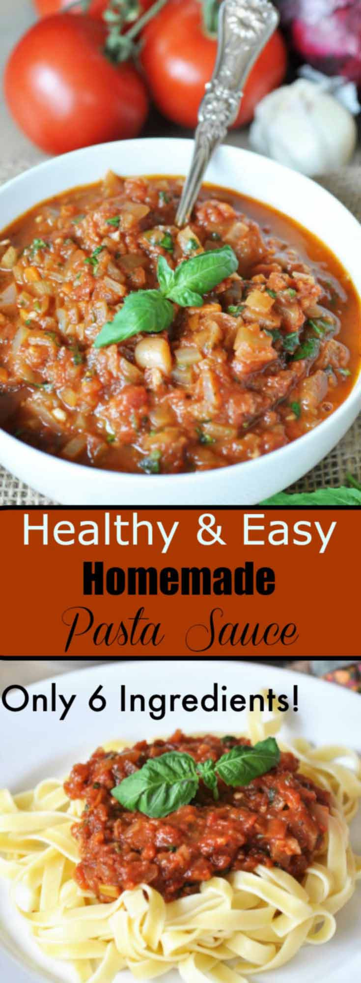 Healthy Homemade Pasta Sauce  Healthy and Easy Homemade Pasta Sauce Veganosity