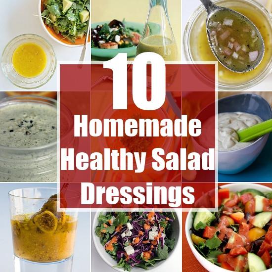Healthy Homemade Salads  10 Homemade Healthy Salad Dressings