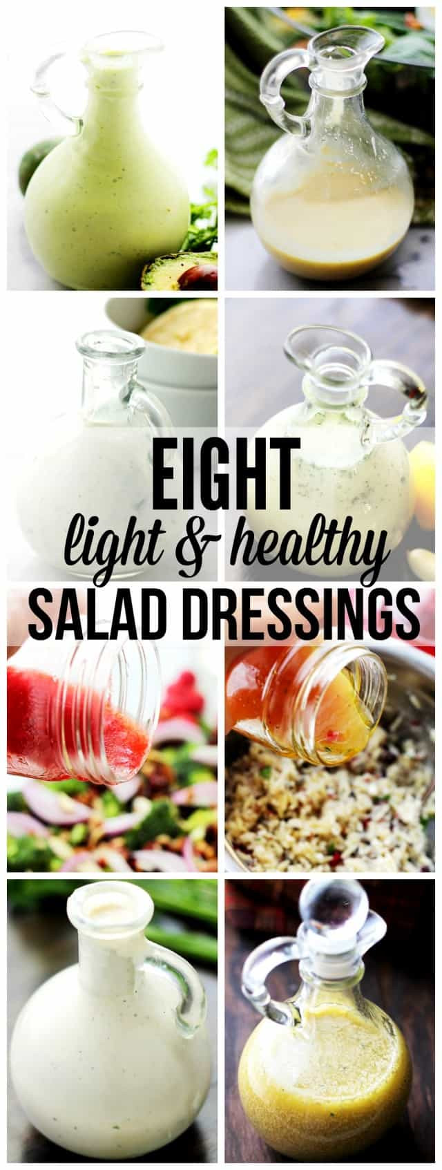 Healthy Homemade Salads  Eight Light and Healthy Homemade Salad Dressings Recipes