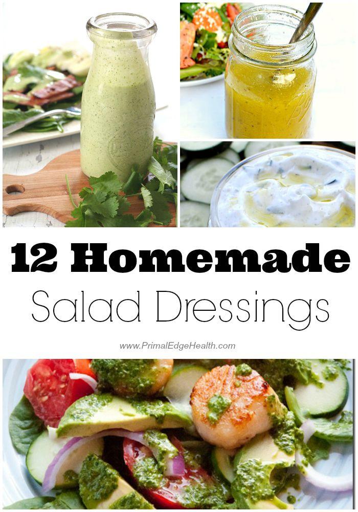 Healthy Homemade Salads  12 Healthy Homemade Salad Dressings Primal Edge Health