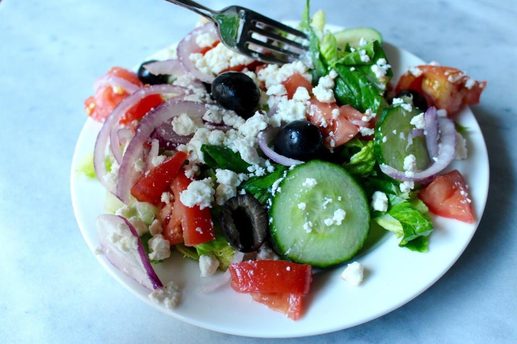 Healthy Homemade Salads  Healthy Homemade Greek Salad