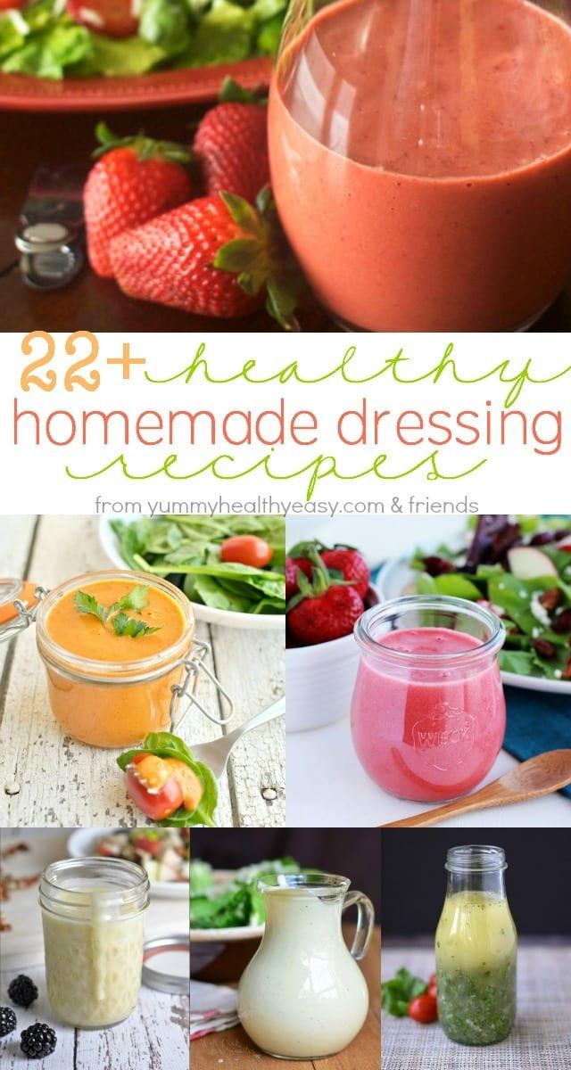 Healthy Homemade Salads  22 Healthy Homemade Salad Dressing Recipes Yummy