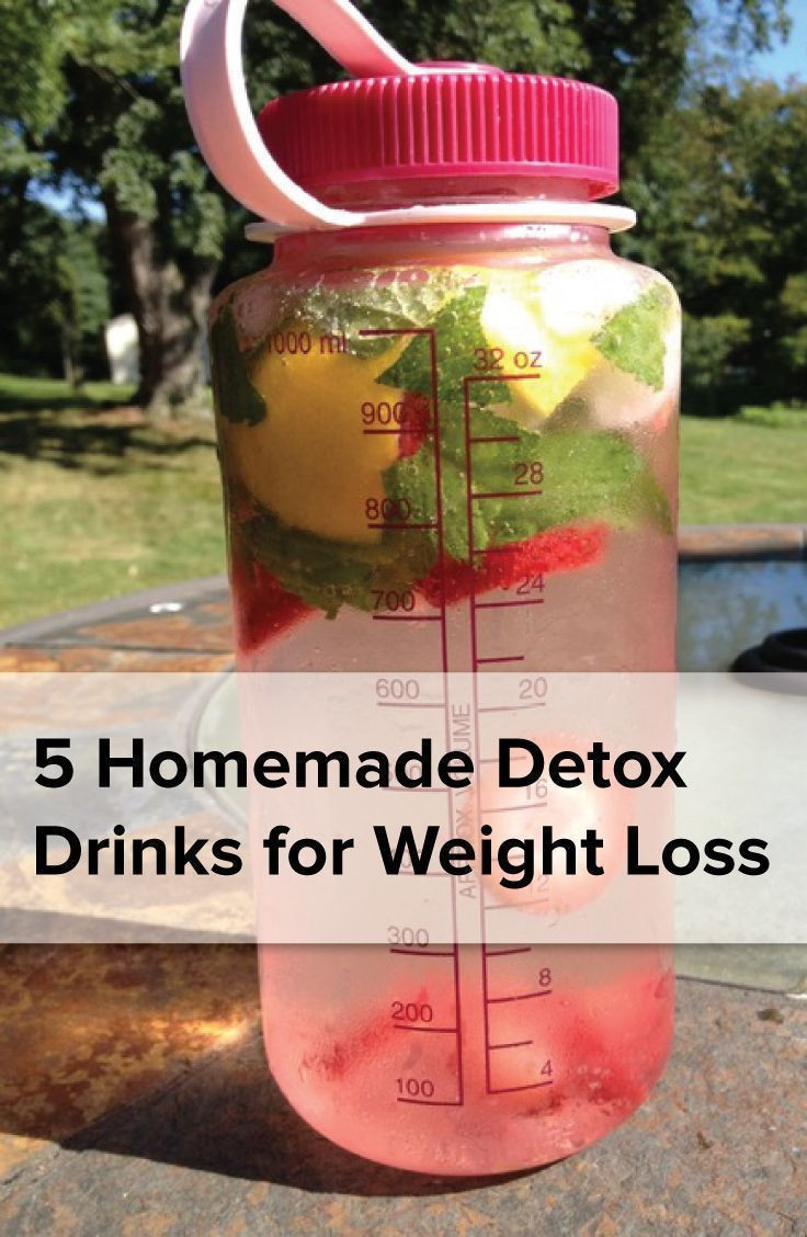Healthy Homemade Smoothies For Weight Loss  5 homemade detoxdrinks for weight loss