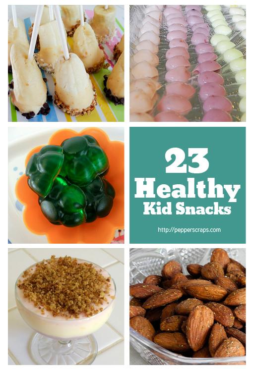 Healthy Homemade Snacks For Kids  23 Healthy Kid Snacks – Pepper Scraps