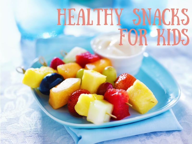 Healthy Homemade Snacks For Kids  Easy Healthy Snacks for Kids