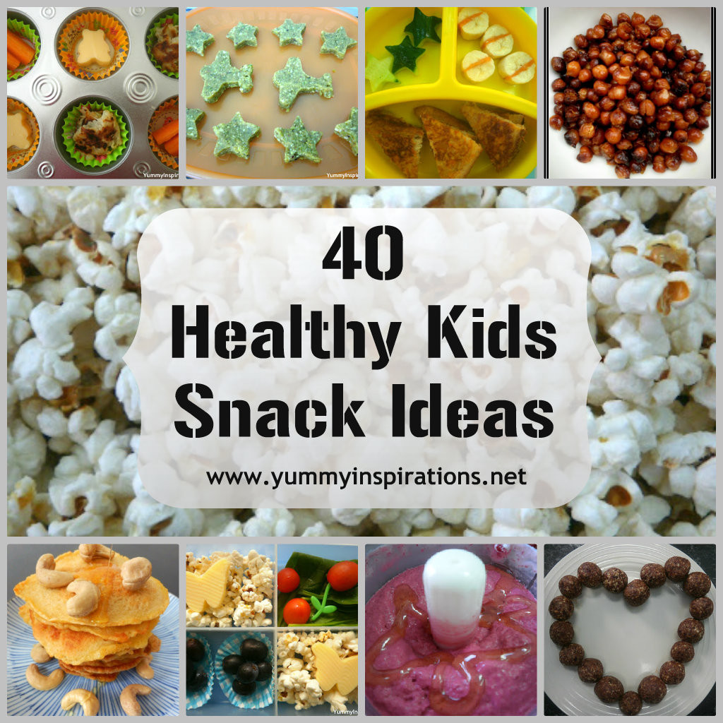 Healthy Homemade Snacks For Kids  40 Healthy Kids Snack Ideas Yummy Inspirations