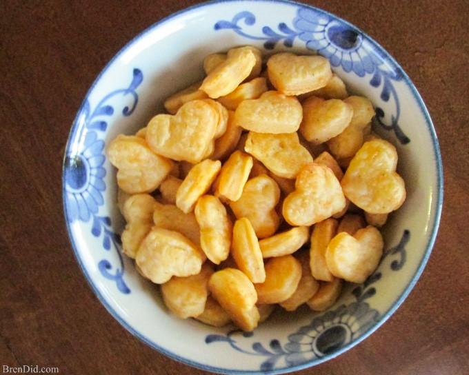 Healthy Homemade Snacks Recipes  Healthy Snack Idea Homemade Cheese Crackers Recipe Bren Did