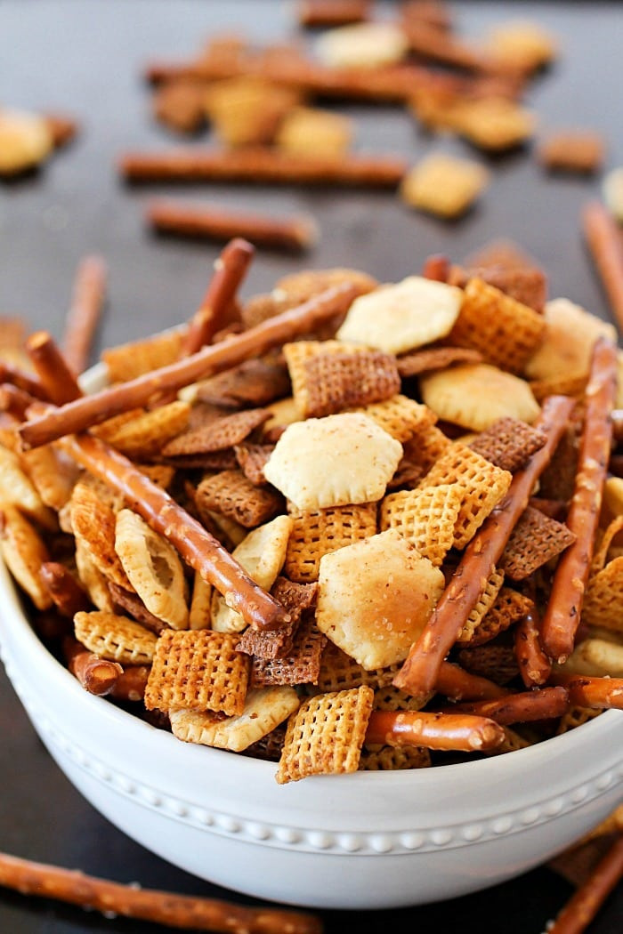 Healthy Homemade Snacks  Homemade Snack Mix Recipe Yummy Healthy Easy