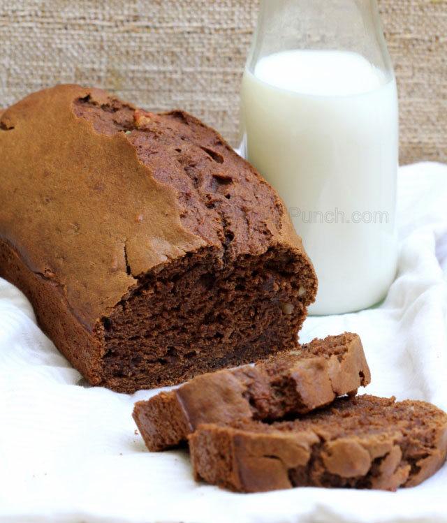 Healthy Homemade Whole Wheat Bread Recipe  Banana and Chocolate Whole Wheat Spicy Bread Recipe