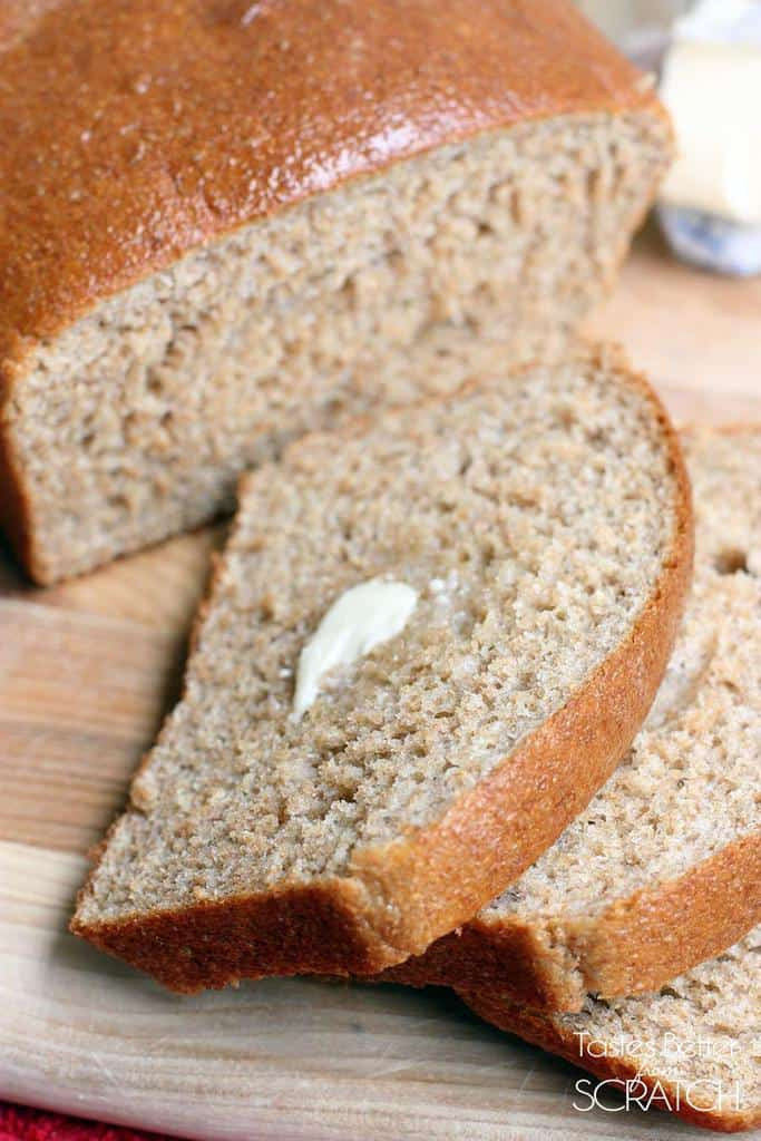 Healthy Homemade Whole Wheat Bread Recipe  Honey Whole Wheat Bread Tastes Better From Scratch