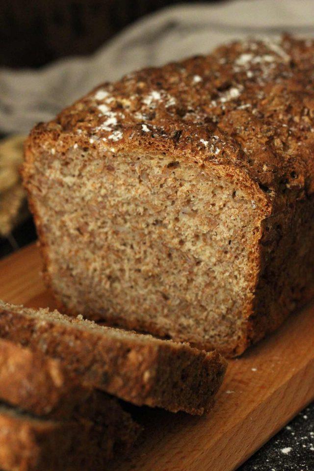 Healthy Homemade Whole Wheat Bread Recipe  Healthy Wholemeal Bread • Happy Kitchen Rocks